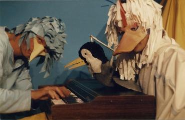 kindertheater 'De Kleinste Komedie' 1984 JvdT links